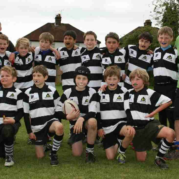 U11Bs storm through to the Cup Final at London Irish