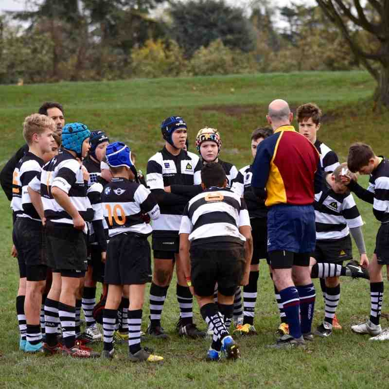 U13As vs Effingham U13As 15 Nov 2015