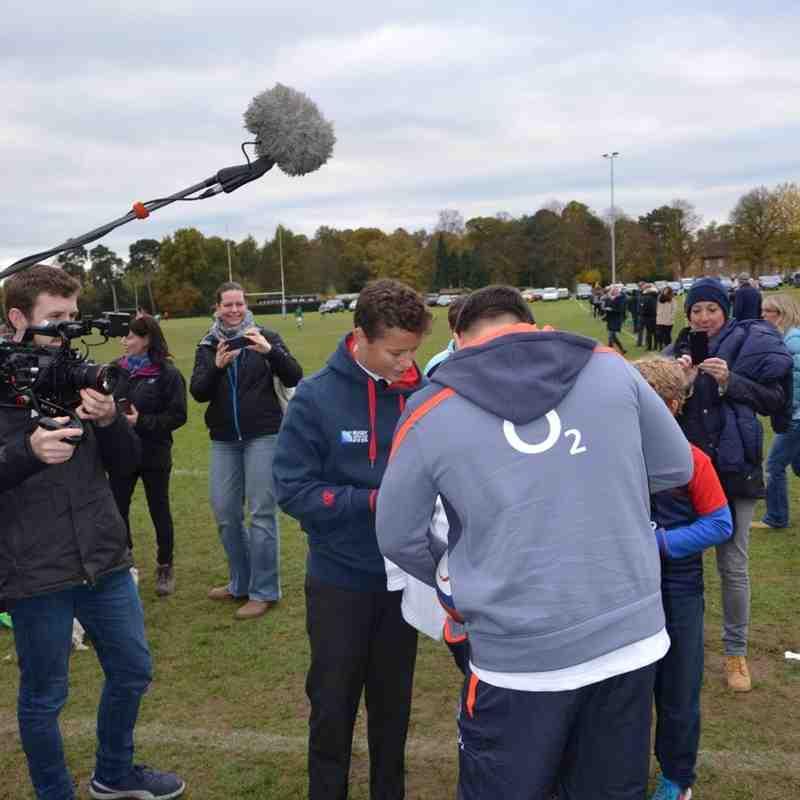 U14As vs Reeds Weybridge - 6 Nov 2016