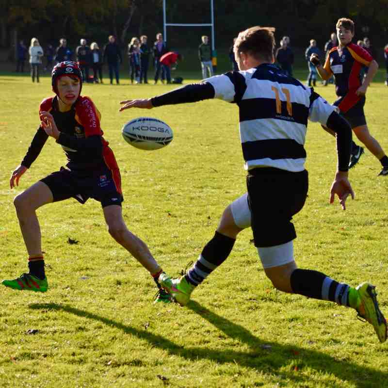 U14As vs Chobham - 13th Nov 2016