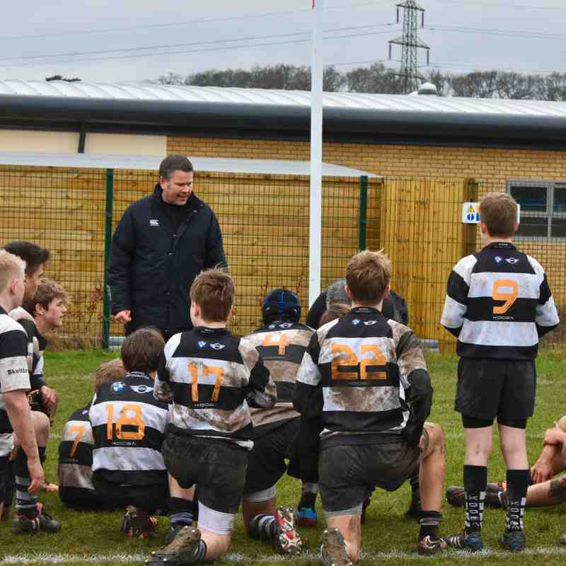 U14As vs Wimbledon Warriors 19 Jan 2017