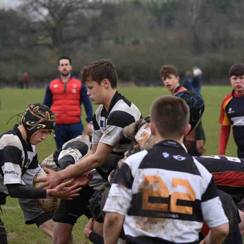 U14As vs Chobham 5 Feb 2017