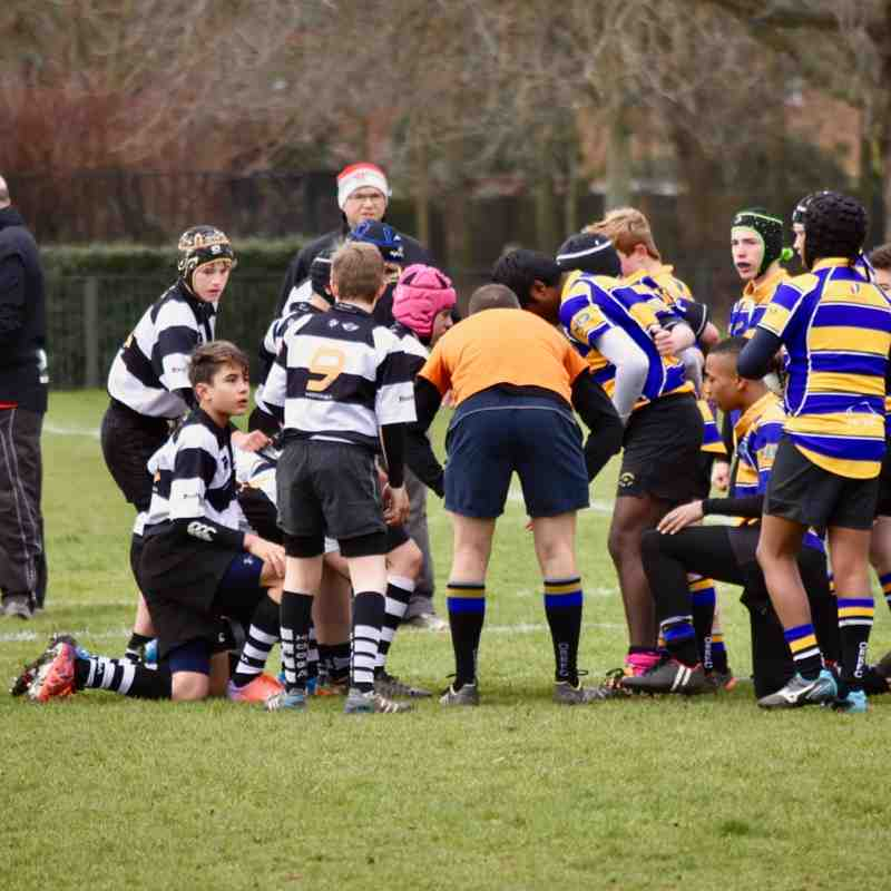Farnham U14As vs Old Ruts U14As 19th Feb 2017