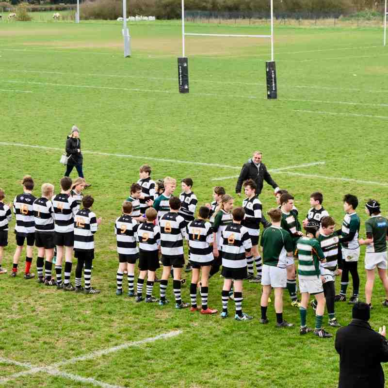 U14s vs Ealing Trailfinders 19 March 2017