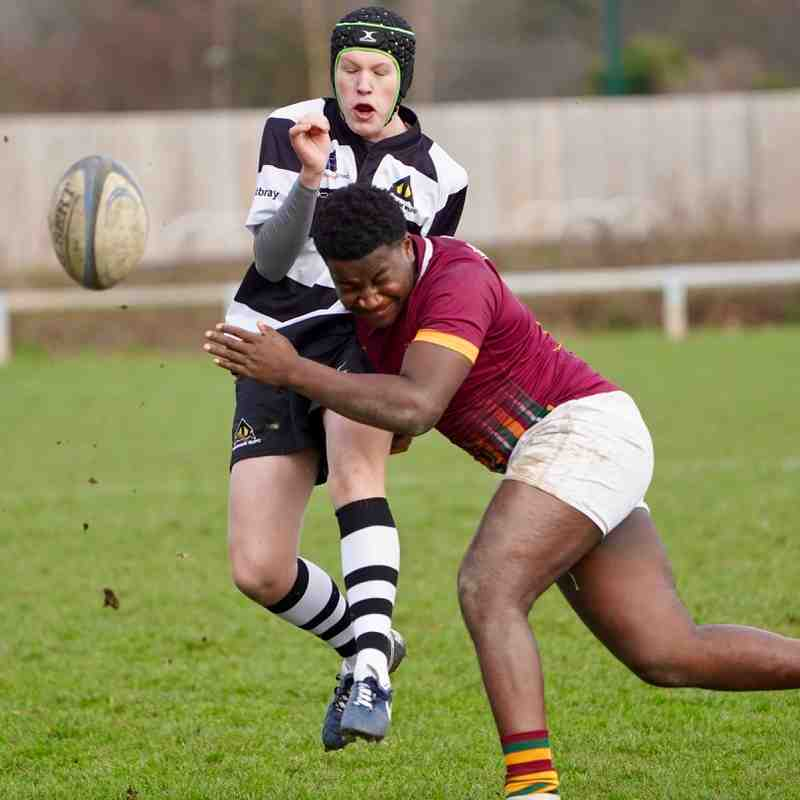 Farnham U16As vs Wimbledon 12 Jan 2019