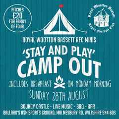 Stay & Play Camp Out