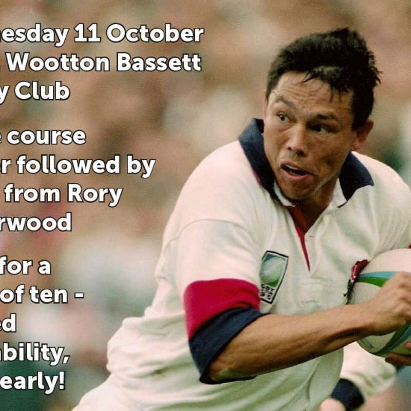 Prospect Hospice Fundraising Dinner with Rory Underwood