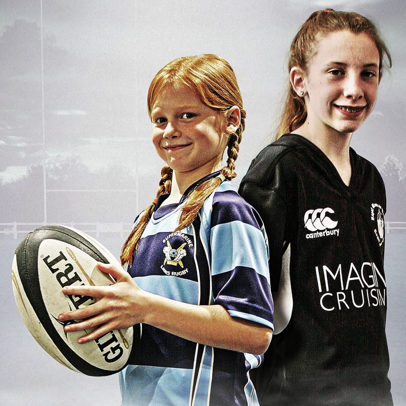 Introducing Girl's Rugby to Ballards Ash