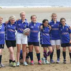 Alnwick Girls U13's Fly the Flag for Northumberland