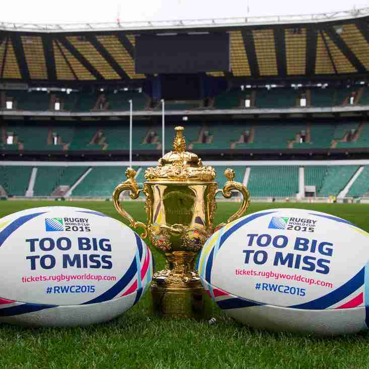 Ever wanted to play rugby…. How about go to a World Cup Final?