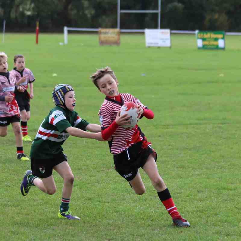 Wrexham U10s vs Rhyl u10s - 18th October 2015