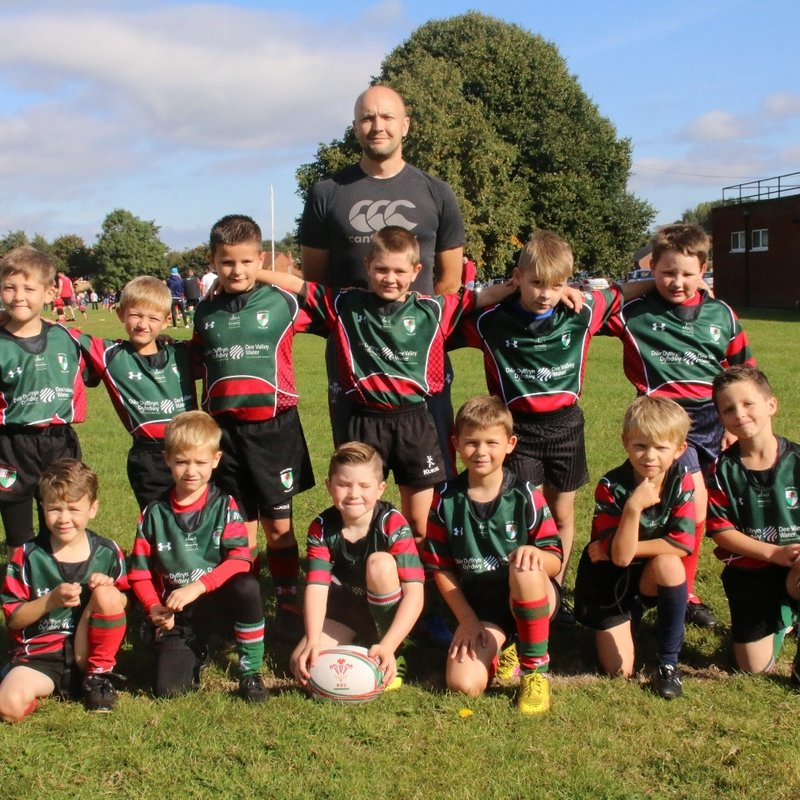 Wrexham Under 8s lose to Oswestry 36 - 29