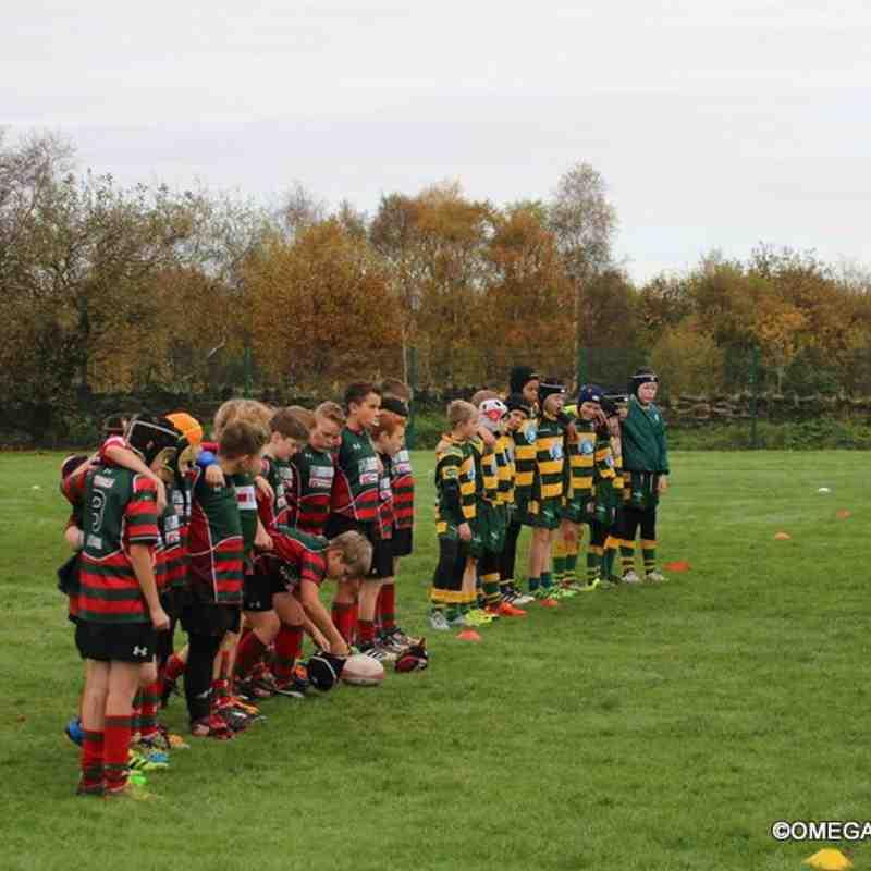 Wrexham U11s vs West Park - 13th November 2016