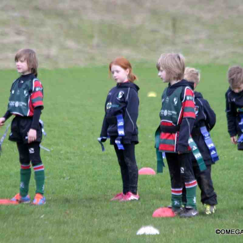 Wrexham u7s visit Rhos rugby club HALFAGAME festival - Taken by Jemma Wright
