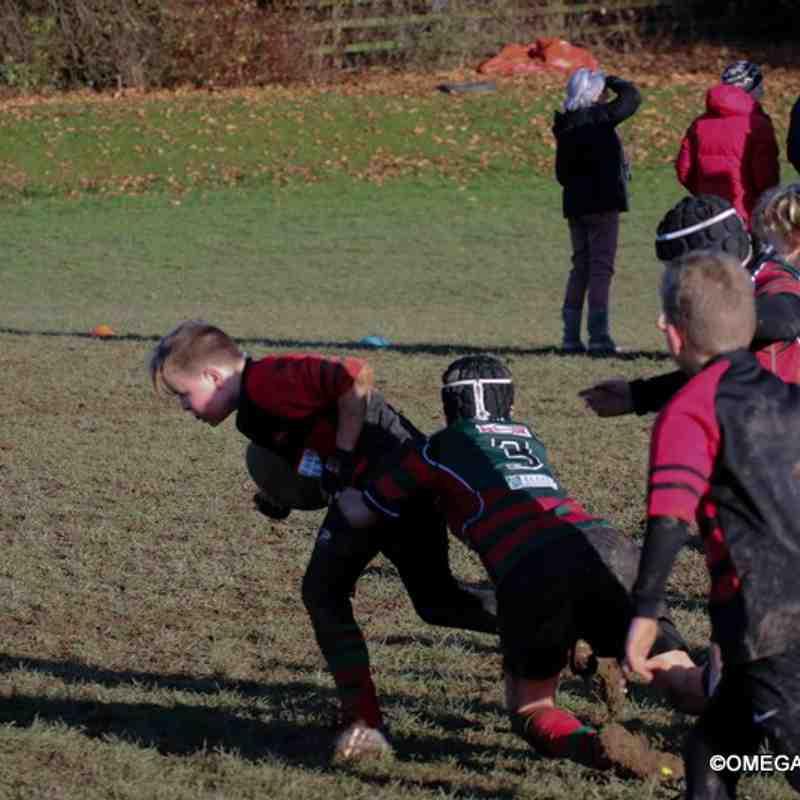 Wrexham u11s vs Oswestry - 4/12/2016