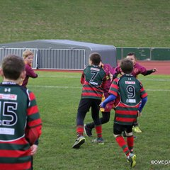 Half time U11s/U12s game at RGC feat. Wrexham and Caernarfon