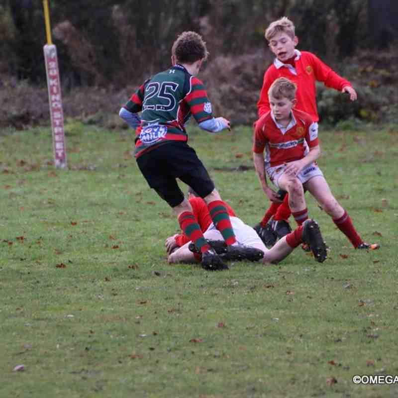Wrexham U12s vs Whitchurch - 11/12/2016
