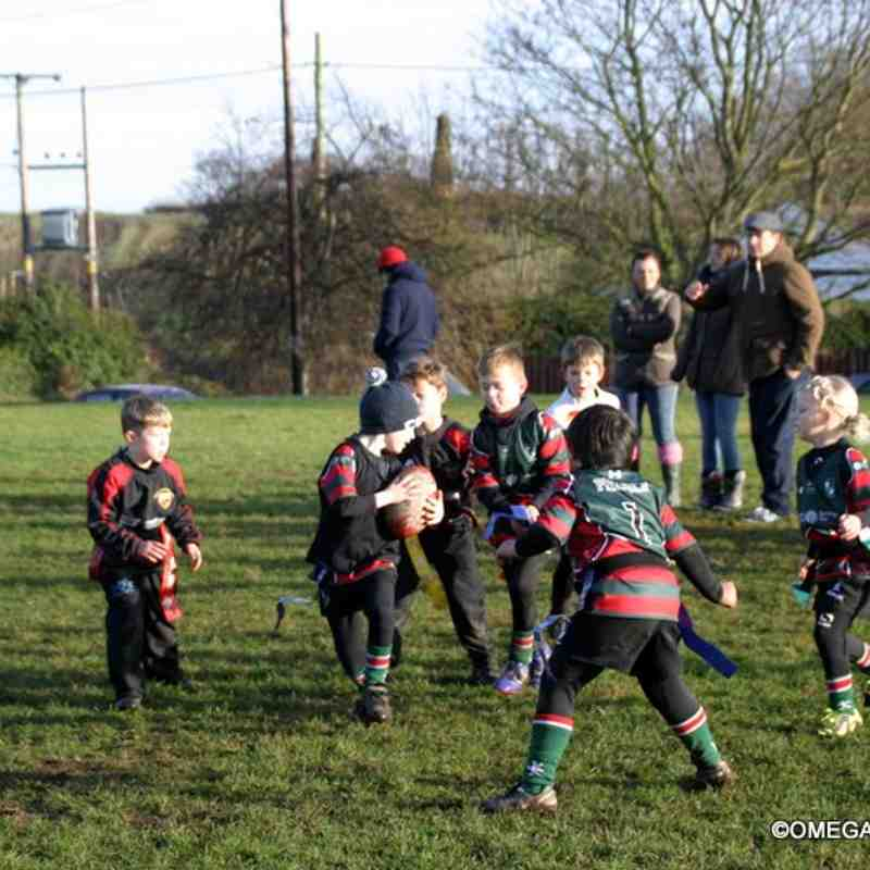 Wrexham U7s vs Crewe and Nantwich - 18th December 2016