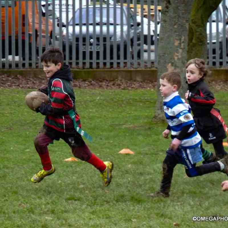 Wrexham U7s vs Ruthin/Nant Conwy - 26-02-2017 - photos by Jemma Wright