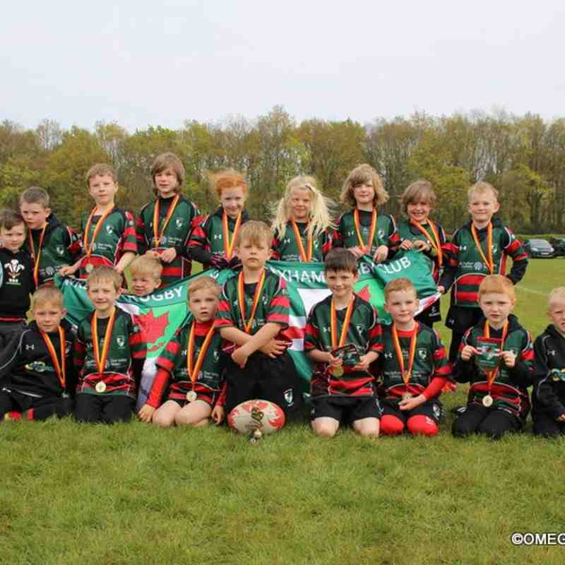 Wrexham U7s - Harrogate Tour - 30th April 2017