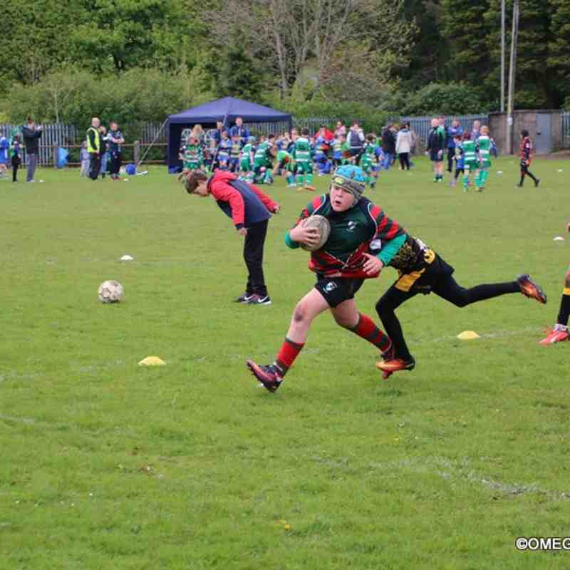 Wrexham U11s at Rhymney Festival - 13/05/2017