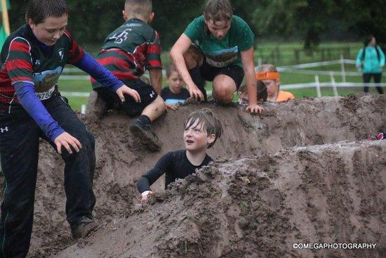 Wrexham U8s at Tough Mudder! - 09/09/2017