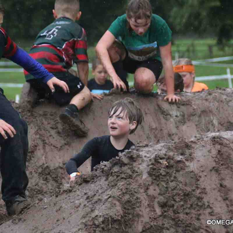 Wrexham U8s at Tough Mudder! - 09/09/2017