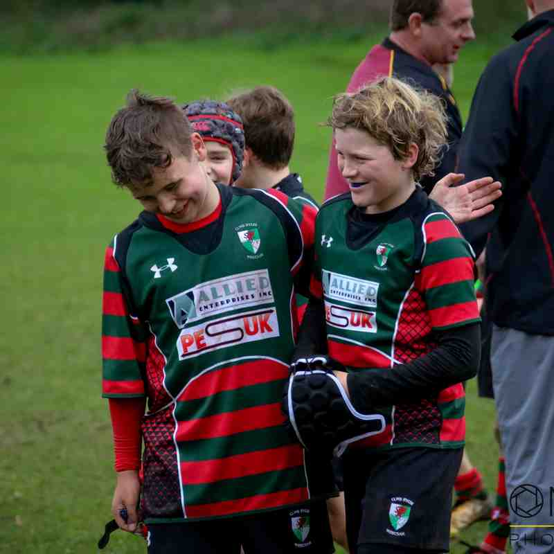 Wrexham U12s vs Mold/COBRA - 8/10/2017