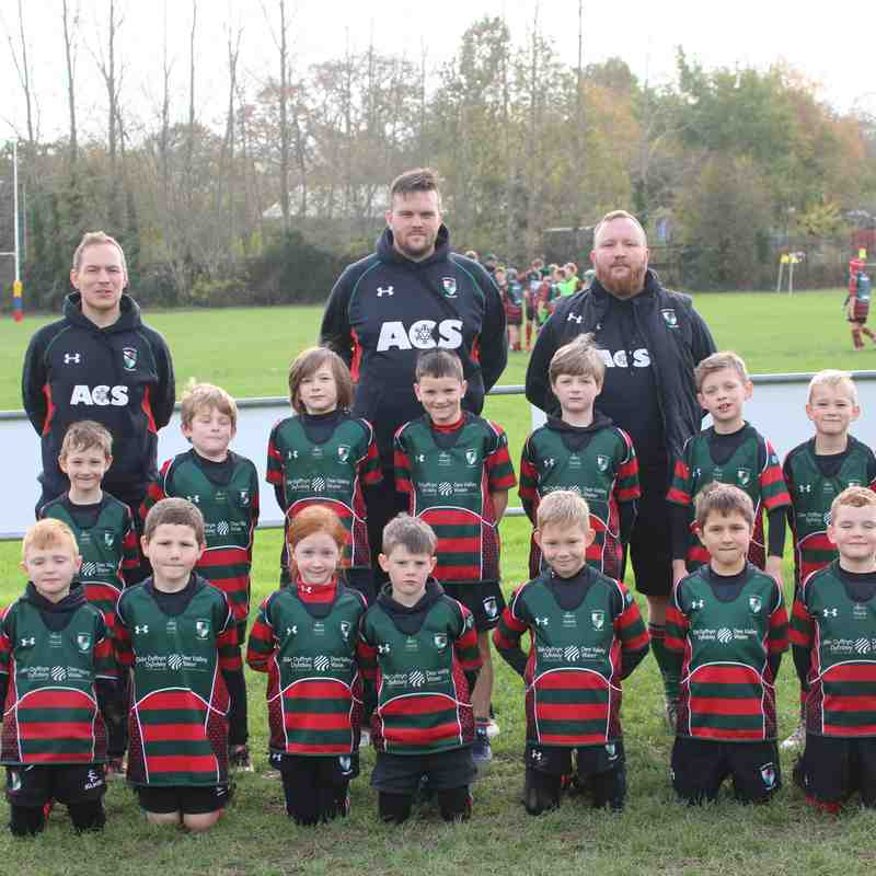 Wrexham U8s vs Denbigh - 29/10/2017