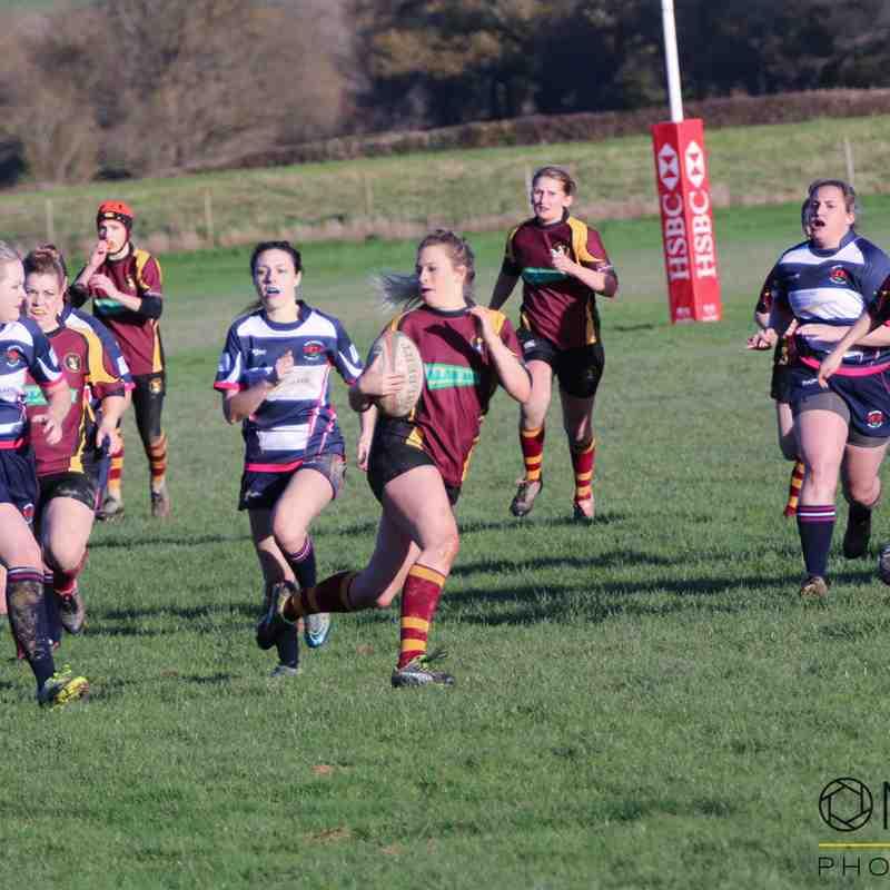 COBRA ladies vs Welshpool Ladies - 12/11/2017