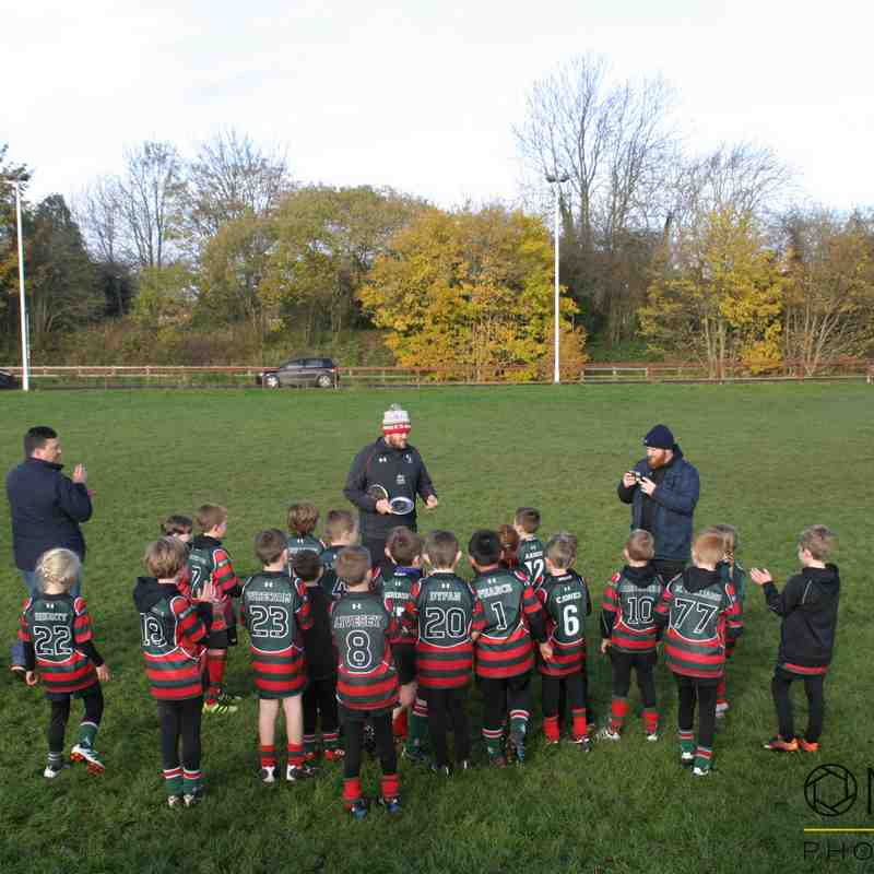WRexham u8s vs Whitchurch - 19/11/2017 - Photos by Jemma Wright