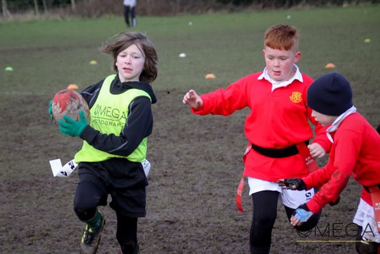 Wrexham U8s vs Whitchurch - 4/2/2018 - photos by C and J Wright