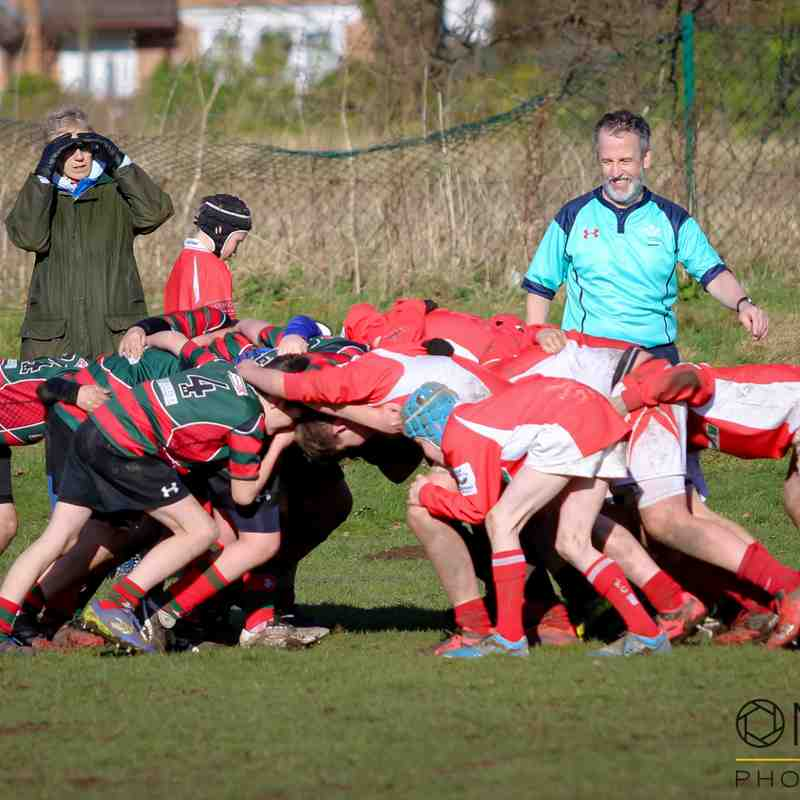 Wrexham U12s vs Whitchurch - 4/2/2018