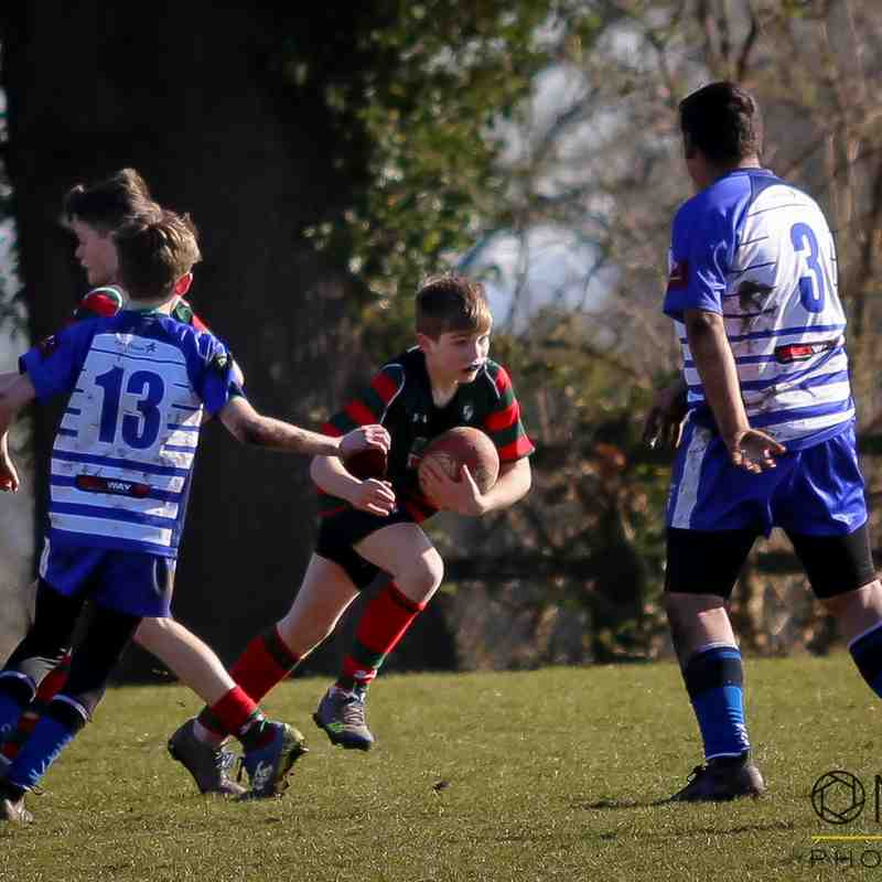 Wrexham U12s vs Sale