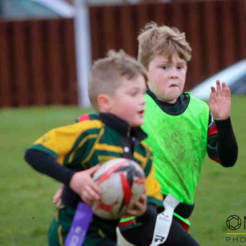 Wrexham U8s vs Denbigh/Nant - 8th April 2018