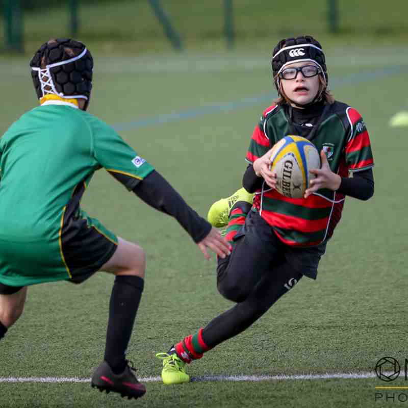 Wrexham U9s at Sale Sharks festival - 20/10/2018