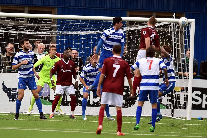 The Rocks Crash Out Of The FA Cup