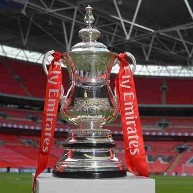FA Cup 2nd Qualifying Round Draw.