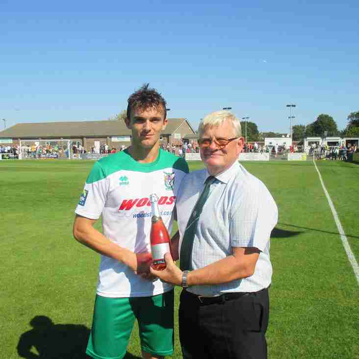 Player of the Month For August.