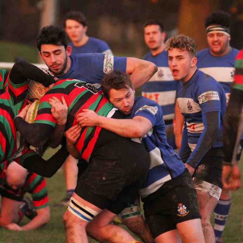 Long Eaton 2 nd XV vs Dronfield 2nd XV  26,11,2017.