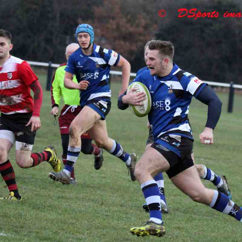 Long Eaton 1st XV vs Nottingham Moderns 16,12,2017.