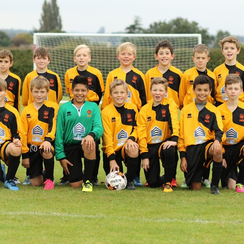 Padbury Village FC Rovers lose to Tattenhoe Youth FC Pumas U11 3 - 6