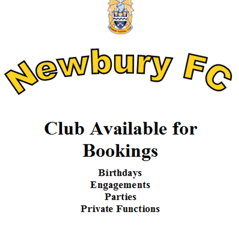Promotion: Newbury FC Bookings
