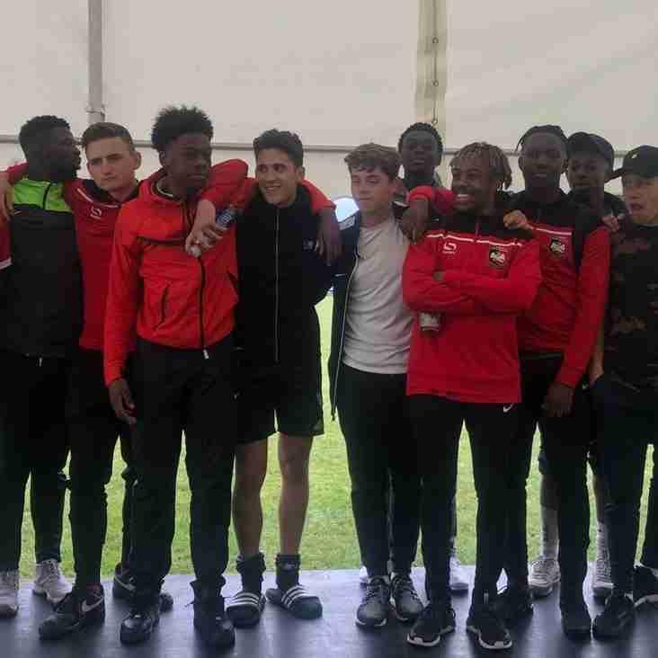 U18s Victorious in Aylesbury Utd Tournament