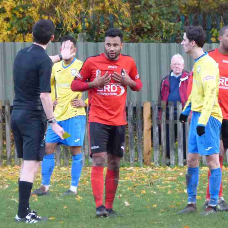Defeat at Home to Berkhamsted