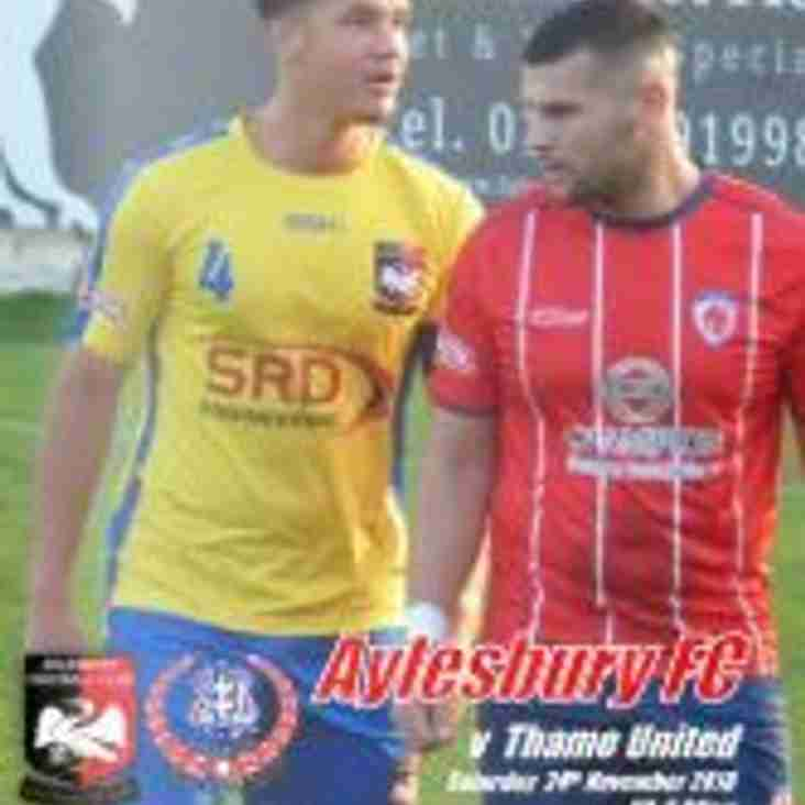 Thame United Programme Available