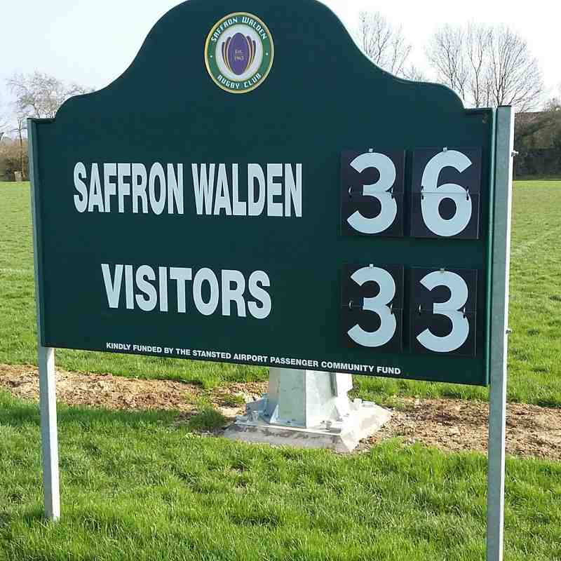 SWRFC v Old Priorians 14th April 2018