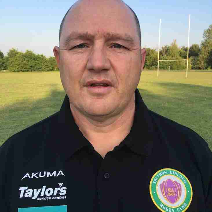 New Director Of Rugby & Coaching Team