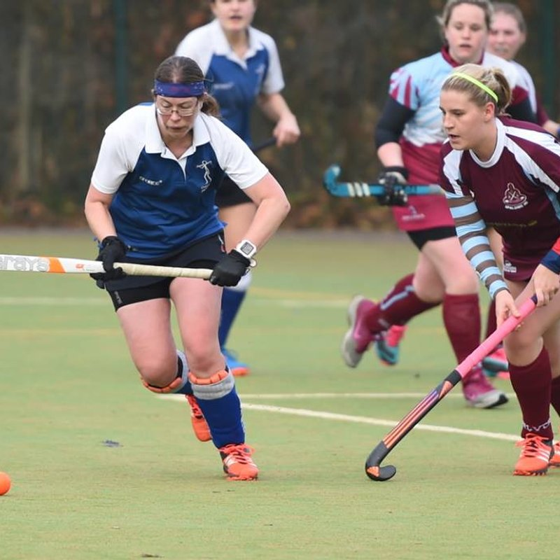 A win for ladies 1s against 2nd in league Spalding1