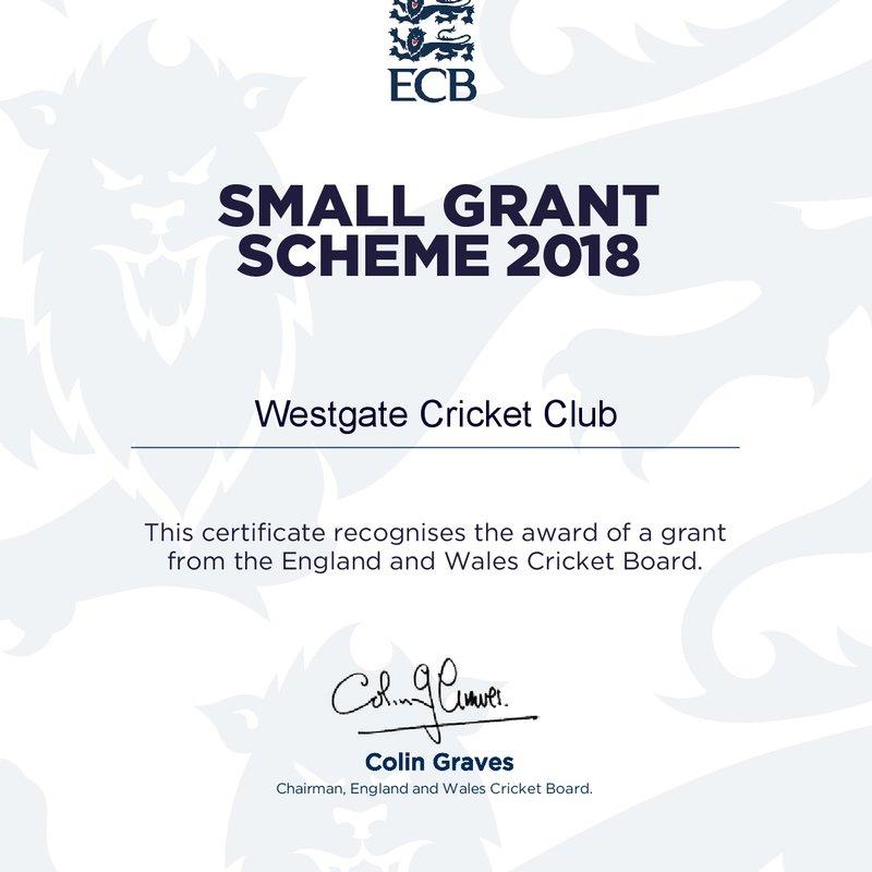 ECB Small Grant Scheme 2018 Award